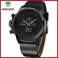Free Shipping Relojes De Hombre Marca WEIDE Wrist Watches For Men Sport Watch Geneva Clock Men Watches 2014 Waterproof Relogio