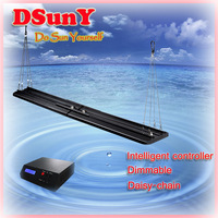 "120cm/48""/4ft programmable smart led aquarium light special design for freshwater tank,sunrise/sunset/Noon/Moon/Season"