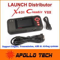 [Authorized dealer] Launch Creader VIII OBDII Auto Code Scanner + Gift idiag Same function CRP129 Creader8 free Internet Update