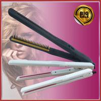 2 в 1 волос укладка инструмент керамический плоский железный плавающей curl Выпрямитель волос утюга 1 «плавающей плоского железа