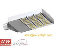 LM-80 Bridgelux street led light 90W warm white 85-265V MeanWell LED driver Bridgelux 45mil high power led free shipping DHL