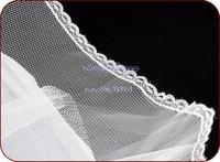 New Elegant Petticoats For Wedding Dress A Line Elastic Waist Hoop Bridal Petticoat Crinoline Underskirt White b10 11906