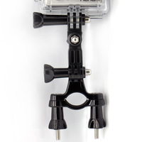 "Smatree Stainless Steel(0.75"" - 1.4"") Handlebar Seatpost  Mount +3-Way Adjustable Arm for Gopro Hd Hero 1/ 2 /3 /3+ Cameras"