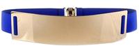 Lady Fashion Weaved Bowknot Pattern Waist Elastic Belt Women's elastic waist belt decoration N82 Cintos cinturon Brand new