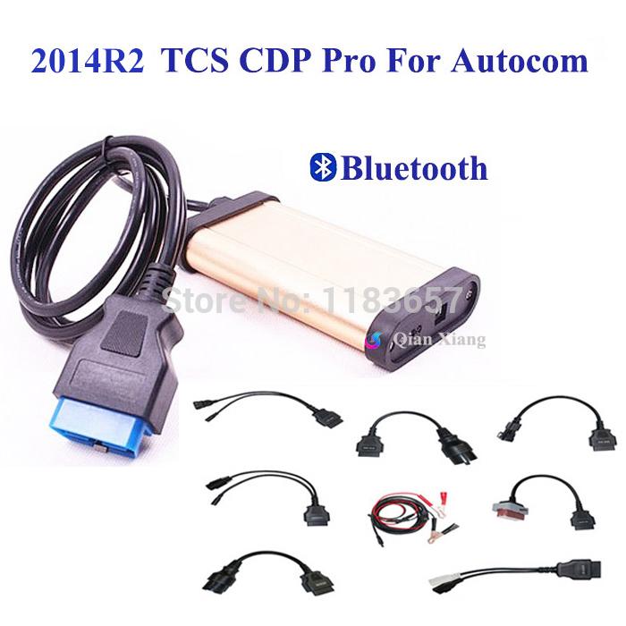 Neue bluetooth v2013r3 keygen tcs autocom cdp pro diagnose-tool für obd2 obdii Autos& trucks+full 8 auto kabel versandkostenfrei