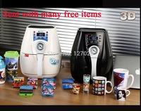 Freeshipping High Quality Mini 3D Sublimation Vacuum Heat Press Machine For Mugs Printing ST-1520 C2 Version