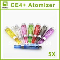 Electronic cigarette CE4+ atomizer e cigarette clearomizer ego atomizer cartomizer for ego battery free shipping