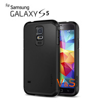 New 2014 SLIM Hybrid Tough Armor SPIGEN SGP Case For Samsung Galaxy S5 i9600 No Retail Package Wholesale 1pcs/lot Free Shipping