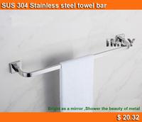 Luxury SUS304 Stainless Steel Bathrom Accessories 60cmTowel Bar /bathroom Single towel bar