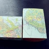 Free Shipping 120pcs World Map Favor Box TH031-A1 Wedding Souvenirs, Party Presents