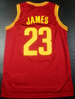 Free Shipping to all country !! #23 Lebron James 2014 new Jersey, Embroidered Logo ( all name number stitched!!)