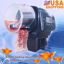 US Stock To USA Digital Automatic Pet Fish Auto Feeder with Aquarium Food Timer Gestante Aquario Para Peixes Decoration(China (Mainland))