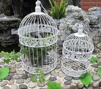 Fashion wedding birdcage decoration metal bird cage wedding decoration bird cages home 4 colors