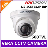 Free Shipping Mini Dome Camera Hikvision DS-2CE5582P-IRP IR Night Vision 600TVL PAL  Video Analog Network CCD Camera