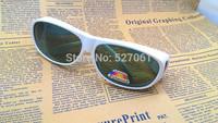 New Unisex Sunglasses for Glasses Polarized Overglasses sunglasses White Frame Green Gray Lens