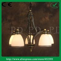 5 heads American living room chandeliers American country creative lighting minimalist dining room bedroom lighting Chandelier