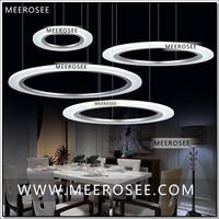 Single Ring Modern LED Chandelier Lamp/light/lighting fixtureLED Comtemporary Lighting Stair Lights MD5057 Fast Shipping