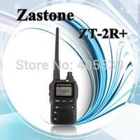 2014 Newest  Zastone top-selling walkie talkie ZT-2R+ dual band VHF+UHF transceiver handheld two way radio ZT2R Upgraded version