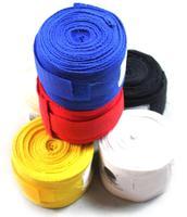 Hot sale Sanda Fight Boxing Hand Wraps Cotton MMA Kickboxing Wrist Bandages BoxGlove 2pcs=1 Pair=1 Lot