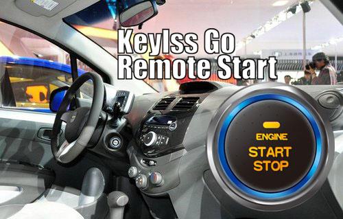 Spark Push Button Keyless Go Remote Start Keyless Entry Smart Key Car Alarm for Chevrolet chevy(China (Mainland))