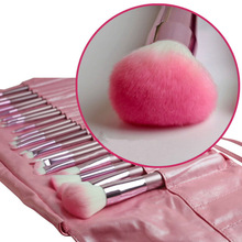 New Arrival 22pcs superior Professional Soft Cosmetic Makeup Brush Set Pink + Pouch Bag Case
