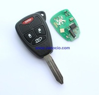 for Chrysler 4 button remote key control 315mhz with electronic ID46 chip