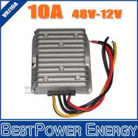 10PCS X  Non-Isolated 48V DC to 12V DC 10A 120W Golf Cart Voltage Reducer DC DC Step Down Converter Conversor Regulador