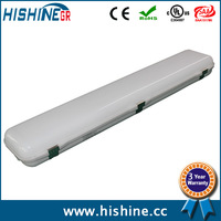FREE SHIPPING 24 pieces 600mm 30w Led Tri Proof Light with Clear or Frosted PC Cover and warranty 3 years
