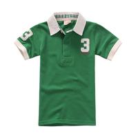 cotton Baby green red black boys' kids clothes t shirt 2-7 years boys children clothing shorts sleeve kids summer baby shirt