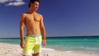 free shipping fashion pattern men trunks,men beach pants, in the fifth men's surf shorts,spring spa underwear men swimwear