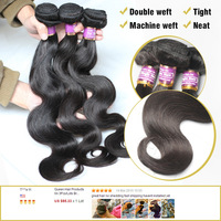 Queen Hair Products 3Pcs Lots Malaysian Virgin Hair Body Wave Shipping Free DHL UPS