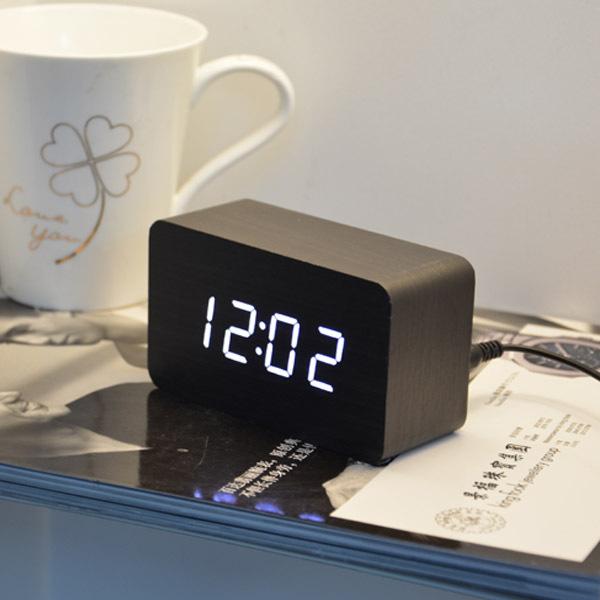Wholesale High Quality Cheap Price Alarm Clocks ,Desktop Multi-function Temperature LED Digital Clock(China (Mainland))