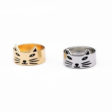 Fashion fashion accessories vintage cat brief ring