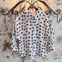 Hu sunshine whoelsale new 2014 summer girls white blouse + red ruffle shorts clothes set kids clothing sets 2pcs suits