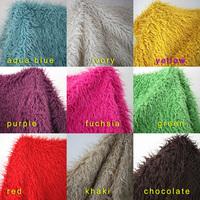 Mongolian Curly Sheep Faux Fur Fabric, Newborn baby photography props.  Faux wool Basket Stuffer Blanket Rug, Size 150*92cm