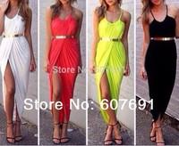 Free Shipping Fashion 2014 Fashion  lovegirl Moss Slouch Dress  WITHOUT BELT  FT880