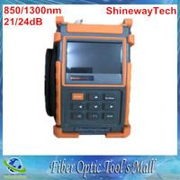 ShinewayTech S20A/E 850/1300nm 21/24dB Optical Time Domain Reflectometer Fiber Optic OTDR MM