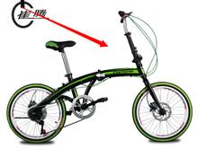 Cui Teng 20 inch / disc brake / folding / ultralight 7-speed transmission car / adult bike / road bike lady student(China (Mainland))