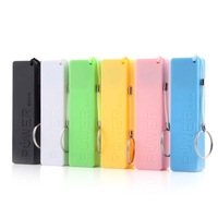 1Pc Yellow Newest USB Cable Key Chain Style Portable Power Bank for iPhone for MP3