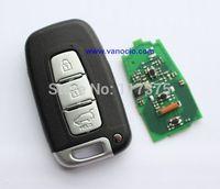 Kia K2 , K5 , Sorento , Sportage 3 button smart card remote key 434mhz with electronic ID46 chip