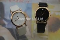 free & drop shipping 1pcs/lot retail new hot sale fashion women giirls leather quartz watch