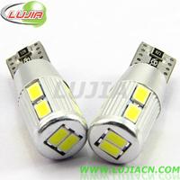 2014 NEWS!! Free shipping 2PC/lot  Car Auto LED Wedge width light T10 921  Canbus 10 smd 5630 LED Light Bulb No error led light