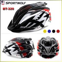 2014 New Brand Sportwolf Sportswear & Accessories Helmet Cycling Ultralight Helmet 230G Multi Colors BT-320 Mens Bicycle Helmet