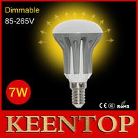 2014 New Dimmable LED Lmaps AC85V-265V E14 7W Solar Pendant Bulbs 2835SMD R50 Umbrella Lights Chandelier Spotlight Lighting 4Pcs