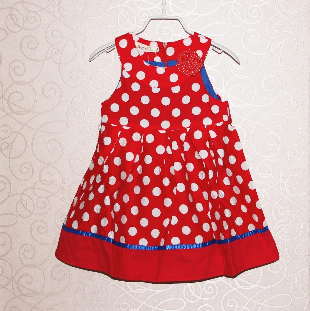 Новая Детская Одежда дети девушка платье