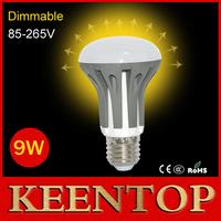 Dimmable E27 AC85V-265V 9W SMD2835 LED Lamps Solar Crystal Light Ball Bulb R63 Umbrella 30LED Downlight LED Lighting 10PCS/LOT