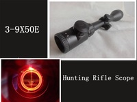 3-9x50E Red Dot Illuminated Sight Scope Optical Hunting Rifle Scope Telescopic Sight Scope