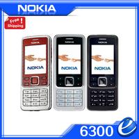 Original Nokia 6300 Unlocked Mobile Phone Tri-Band Multi-language Support Arabic Russian Keyboard