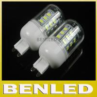 New arrival Warm white/ white G9 220v SMD 5730  9W G9 LED bulb lamp, 24 led 5730,Book light,Led spotlight 5730,free shipping