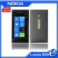 Lumia 800 Original Nokia 800 Sea Ray WIFI 3G GPS 8MP 3.7'' TouchScreen Unlocked Mobile Phone Refurbished nokia cellphone